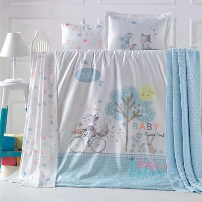 Детский комплект постельного белья ранфорс «Reynard» Luoca Patisca