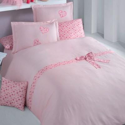 Комплект постельного белья 3D ранфорс «Lamone» Luoca Patisca