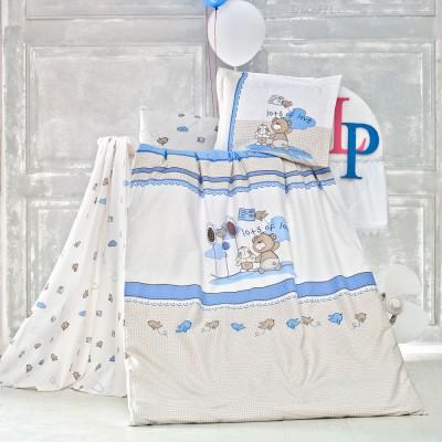 Детский комплект постельного белья ранфорс «Escape» Luoca Patisca