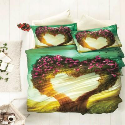 Комплект постельного белья 3D сатин «Nice Dreams» Luoca Patisca