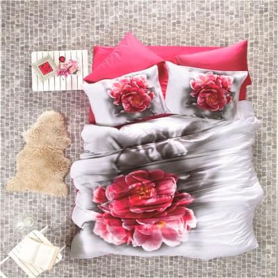 Комплект постельного белья 3D сатин «Secret» Luoca Patisca