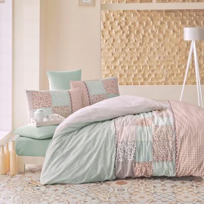 Комплект постельного белья ранфорс «Elegante» Luoca Patisca