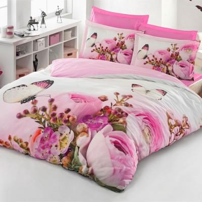 Комплект постельного белья 3D сатин «Maggie» Luoca Patisca