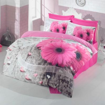 Комплект постельного белья 3D сатин «Vita» Luoca Patisca