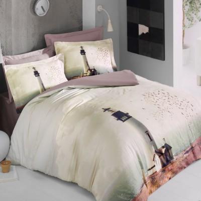 Комплект постельного белья 3D сатин «Mistico» Luoca Patisca