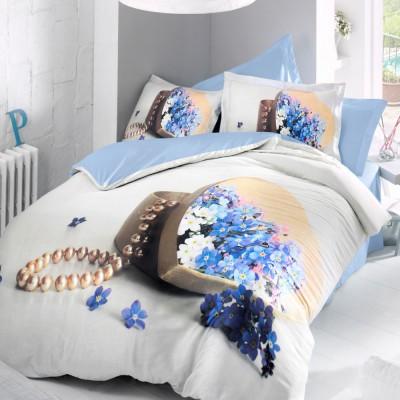 Комплект постельного белья 3D сатин «Lucie» Luoca Patisca