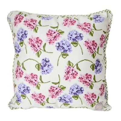 Подушка декор «Розовая клетка» Прованс