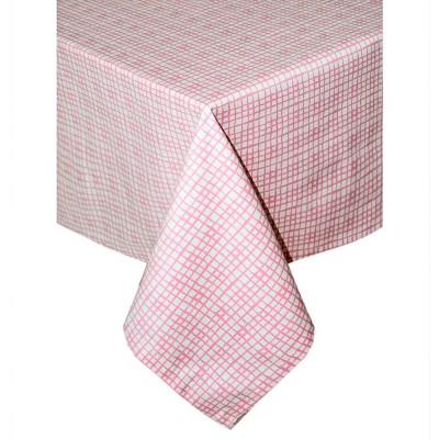 Скатерть «Розовая клетка» Прованс