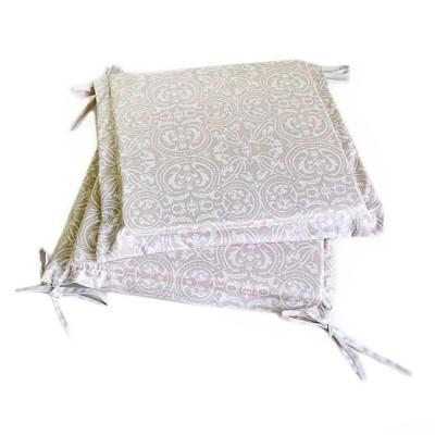 Подушка на стул с ушками «Фреска» Прованс Классик