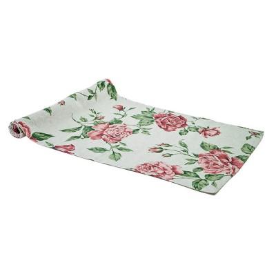 Дорожка на стол «Large pink Rose» Прованс