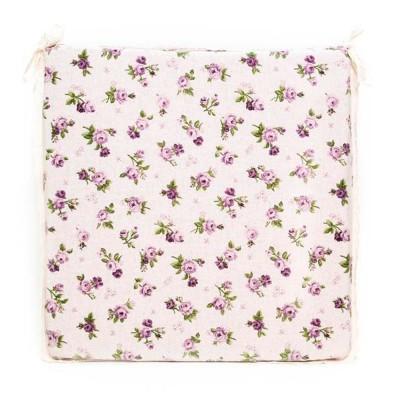 Подушка с кружевом на стул «Lilac Rose» Прованс