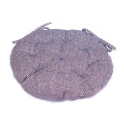 Подушка круглая на стул «Bohema-Deep» Прованс
