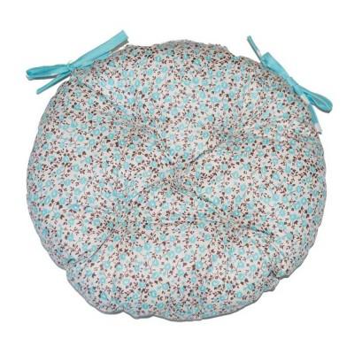 Подушка круглая на стул «Цветы-Тиффани» Прованс Классик