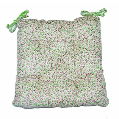 Подушка на стул «Цветы-Олива» Прованс Классик