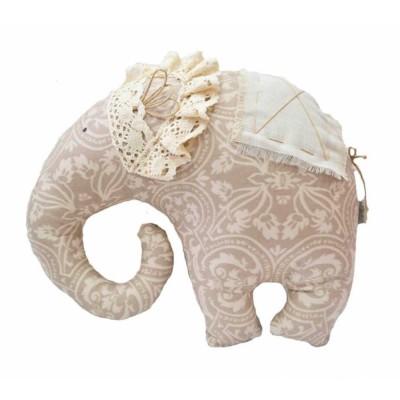 Подушка декор «Слон-Фреска» Прованс