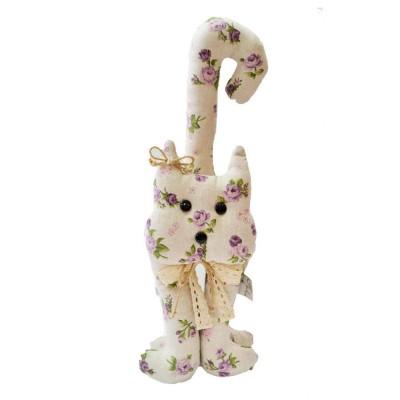 Декор 40 см «Кот-Lilac Rose» Прованс