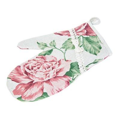 Рукавичка «Large pink Rose» Прованс