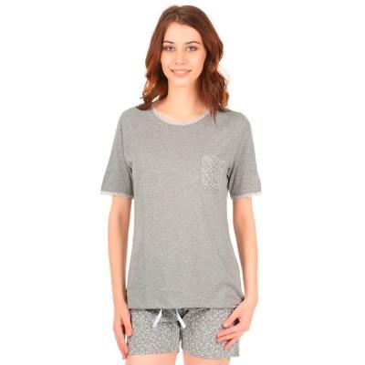 Комплект одежды «Ninfea» серый Miss First