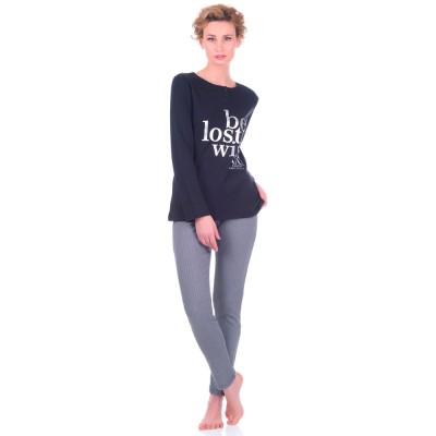 Комплект одежды «De Lempicka» черный Nacshua