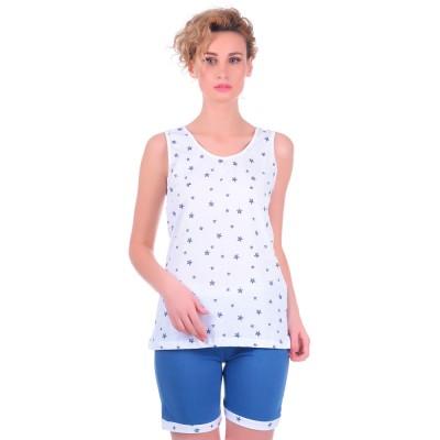 Комплект одежды «Stars» т.синий Miss First