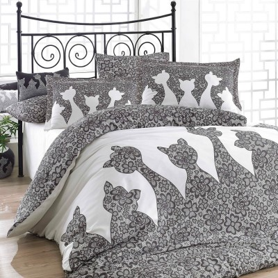 Комплект постельного белья поплин «Jazz» полуторный | Hobby