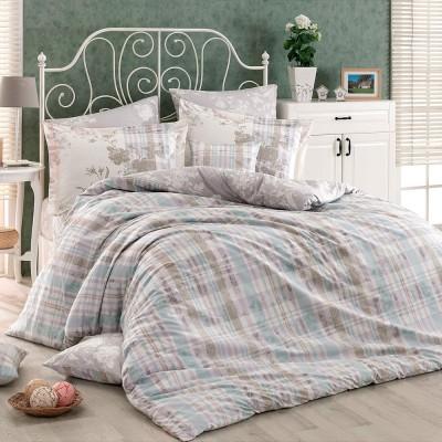 Комплект постельного белья поплин «Elenora» (на резинке) Hobby