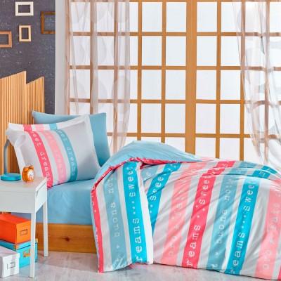 Комплект постельного белья поплин «Sweet Dreams» розовый Hobby