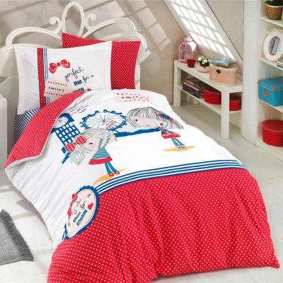 Комплект постельного белья поплин «Smile» Hobby