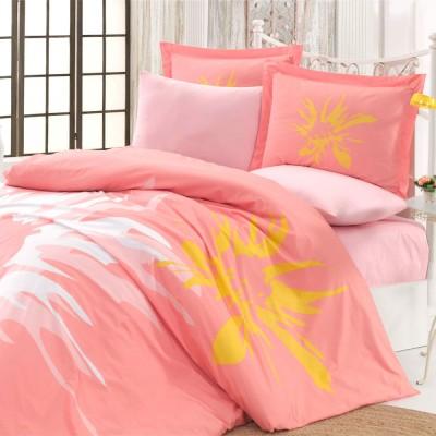 Комплект постельного белья поплин «Romana» персик Hobby