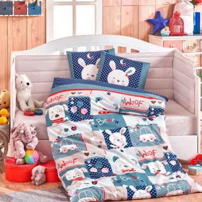 Детский комплект постельного белья поплин «Snoopy» Hobby