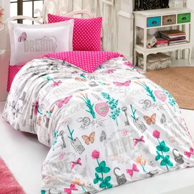 Комплект постельного белья поплин «Rossela» Hobby