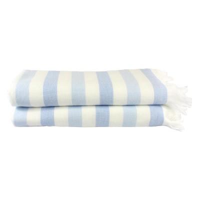 Полотенце «Stripe Peshtemal» голубой | Hobby