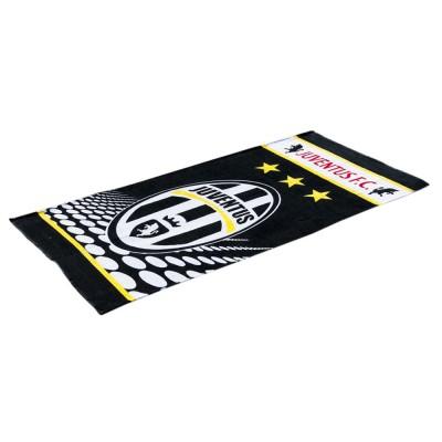 Полотенце пляжное велюр «Juventus» 75*150 | Lotus