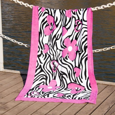 Полотенце пляжное велюр «Good Mood» 75*150 | Lotus