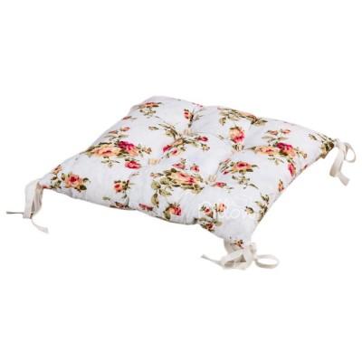 Подушка на стул «Limoges с завязками розовый» 45*45 | Lotus