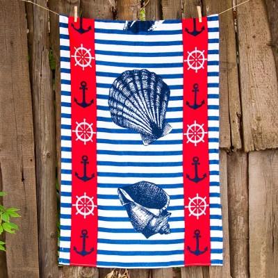 Полотенце пляжное велюр «Ocean Breeze» 75*150 | Lotus