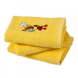 Полотенце кухонное вышивка «Duck желтый» 40*60 | Lotus