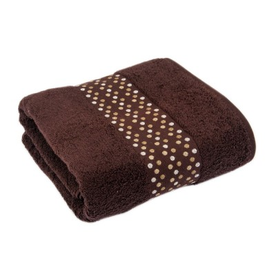 Полотенце «Evelin» коричневый | 70*140 | Tac