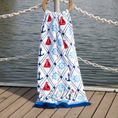 Полотенце пляжное велюр «Anchorage» 75*150 | Lotus