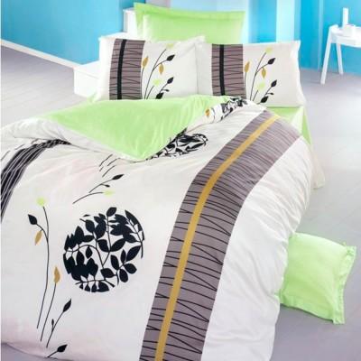 Комплект постельного белья сатин-жаккард «Nemesis» евро | Victoria