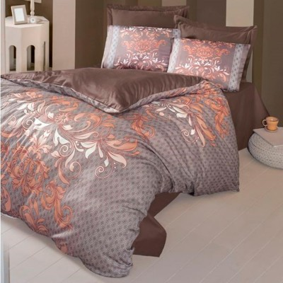 Комплект постельного белья сатин-жаккард «Popart» евро | Victoria