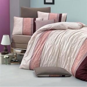 Комплект постельного белья сатин-жаккард «Vena» евро | Victoria