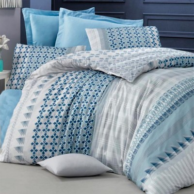Комплект постельного белья сатин-жаккард «Ilya» евро | Victoria