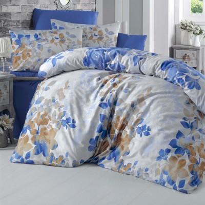 Комплект постельного белья сатин-жаккард «Kayra» евро | Victoria