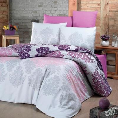 Комплект постельного белья сатин-жаккард «Maderia» евро | Victoria