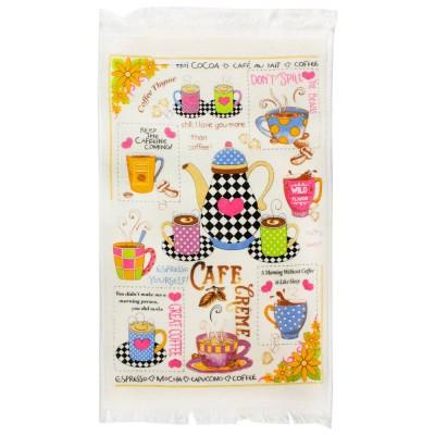 Полотенце махровое «Кофе» крем 40*60 | IzziHome
