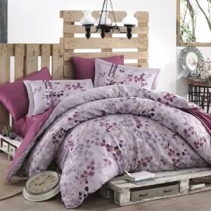 Комплект постельного белья сатин «Exclusive Sateen Irma» сливовый | Hobby