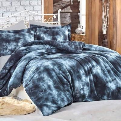 Комплект постельного белья поплин «Batik Gizem» серый | Hobby