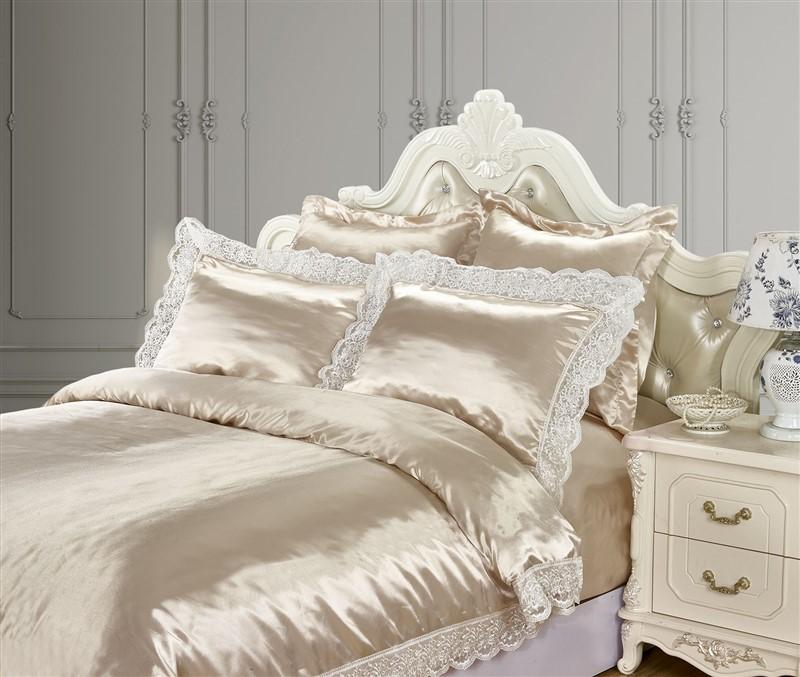 Шелк постельное белье